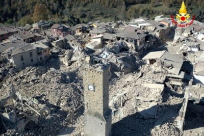A 6.6 Magnitude Earthquake Shakes Central Italy, The Strongest In 30 Years